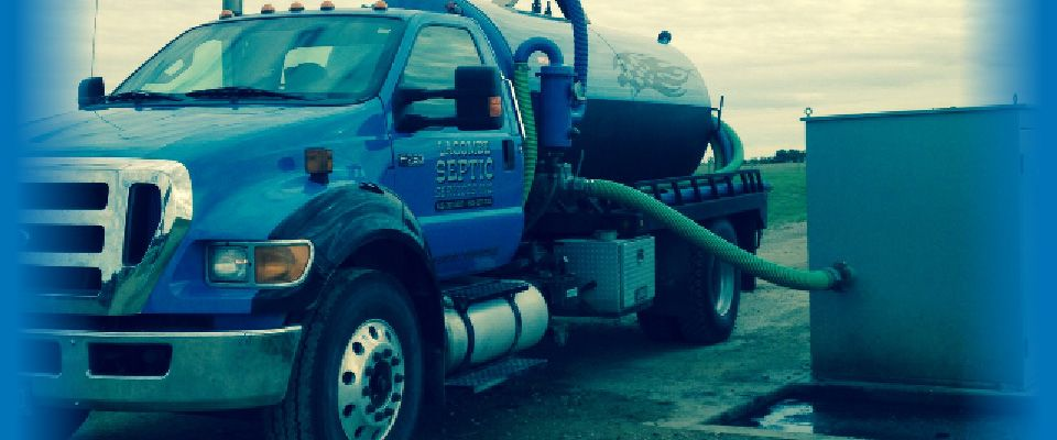 Lacombe Septic Service | Septic truck